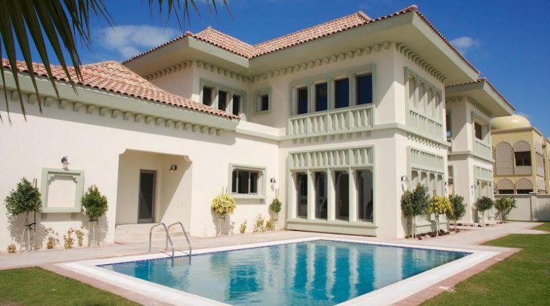 къща на заможни хора